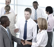 Group of Business People Meeting in the Office Stock Images