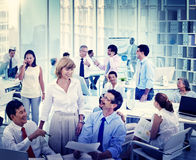 Group of Business People Meeting in the Office Concept Royalty Free Stock Photography