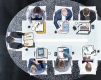 Group of Business People Meeting Photo Illustration. Group of Business People Meeting in Photo Illustration stock photos
