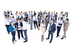 Group of Business People Meeting Talking Concept Stock Photo