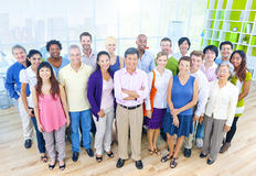 Group of Business People in the Office Royalty Free Stock Photo