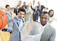 Group of business people in the office Royalty Free Stock Photos