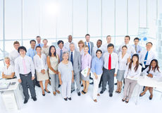 Group of Business People in the Office Stock Photos