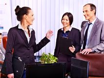 Group business people in office. Stock Photos
