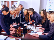Group business people in office Royalty Free Stock Image