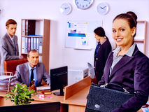Group business people in office Royalty Free Stock Images