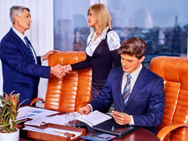 Group business people in office Royalty Free Stock Photos