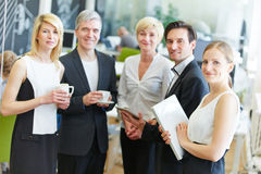 Group of business people in the office Royalty Free Stock Image