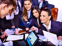 Group business people in office. Stock Image
