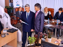 Group business people in office. Stock Photo