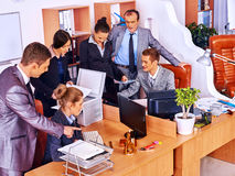Group business people in office Stock Images