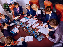 Group business people in office Royalty Free Stock Photo