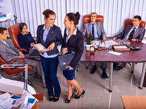 Group business people in office Stock Photos