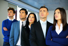 Group of business people in the office Royalty Free Stock Images