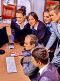 Group business people in office Stock Photography