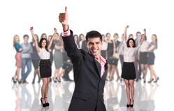Group of business people Stock Image