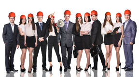 Group of business people Royalty Free Stock Photos