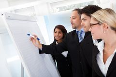 Group of business people at presentation Royalty Free Stock Photography
