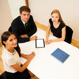 Group of Business people searching for solution with brainstormi. Ng - Team work Royalty Free Stock Photos