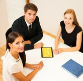 Group of Business people searching for solution with brainstormi. Ng - Team work Stock Image