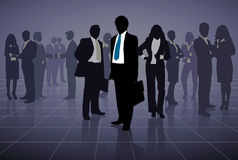 Group of business people. Stock Image