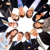Group of business people standing Stock Photo