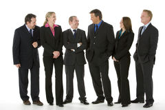 Group Of Business People Standing Royalty Free Stock Photography