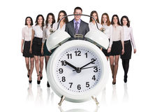 Group of business people. Royalty Free Stock Photos