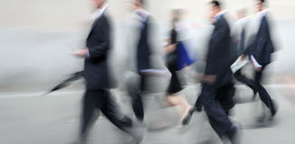 Group of business people in the street Stock Photo