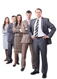 Professional business team.photo in full growth Stock Images