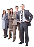 Professional business team.photo in full growth Stock Photography