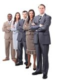 Professional business team.photo in full growth Stock Photos