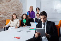 Group of business people Royalty Free Stock Images