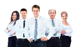 Group of business people team. Royalty Free Stock Image