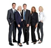 Group of business people together royalty free stock images