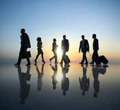 Group of Business People Traveling Royalty Free Stock Image