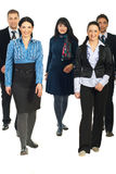 Group of business people walking Stock Photo