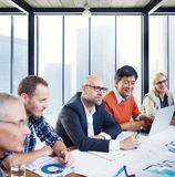 Group Of Business People Working Stock Image