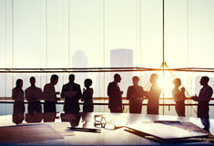 Group Business People Working Office Concept Royalty Free Stock Photography