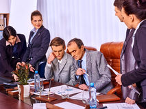 Group business people working in office Royalty Free Stock Images