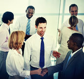 Group of Business People Working Office Meeting Concept Royalty Free Stock Photo