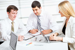 Group of business people Stock Photos