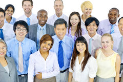 Group of Business Team Smiling Royalty Free Stock Photo