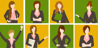 Group of business woman Stock Photo