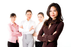Group of business woman Royalty Free Stock Images