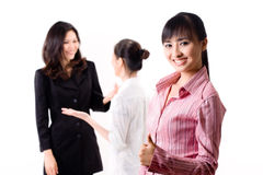 Group of business woman Royalty Free Stock Photo