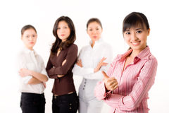 Group of business woman Stock Photos