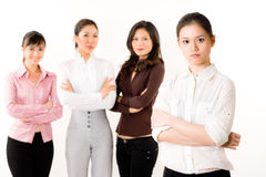 Group of business woman Royalty Free Stock Photography