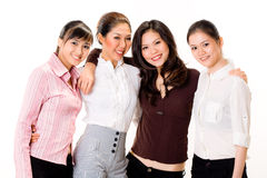 Group of business woman Stock Photography