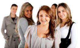 Group of business women Stock Images